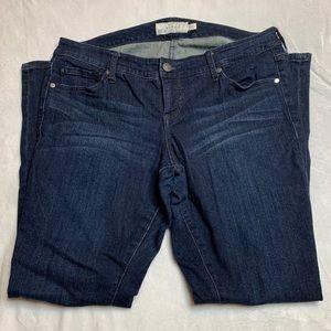 Torrid low rise straight leg jeans